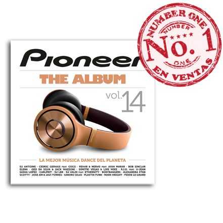 Pioneer The Album Nº1 en Ventas